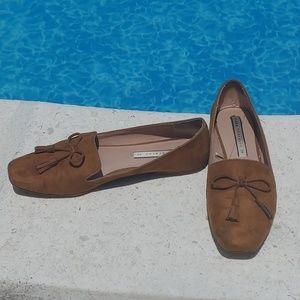 Zara Trafaluc Suede Loafers